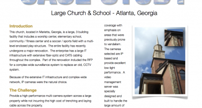 Church and School Case Study